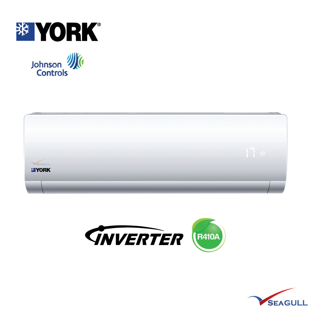 York Wall Mounted Premium Inverter Johnson Control 1 5hp