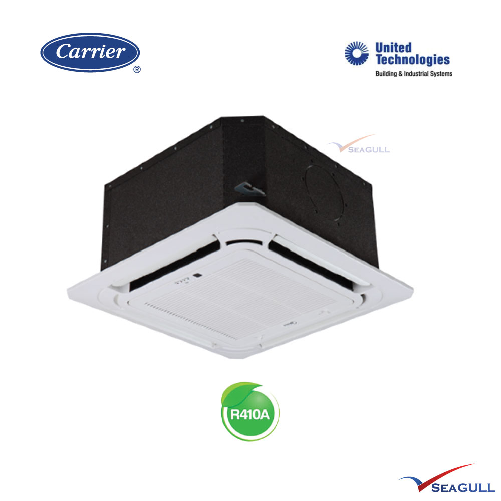 Carrier fixed speed ceiling cassette non inverter 1 5hp for Texas motor carrier credential system