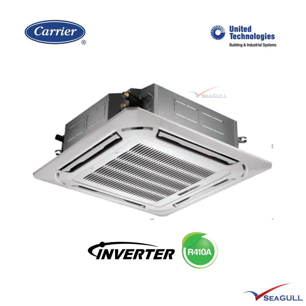 Carrier Ceiling Cassette Inverter 5 5hp R410a Seagull My