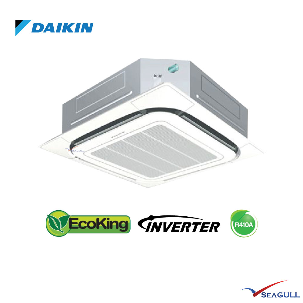Daikin Round Flow Inverter Single Split Ceiling Cassette
