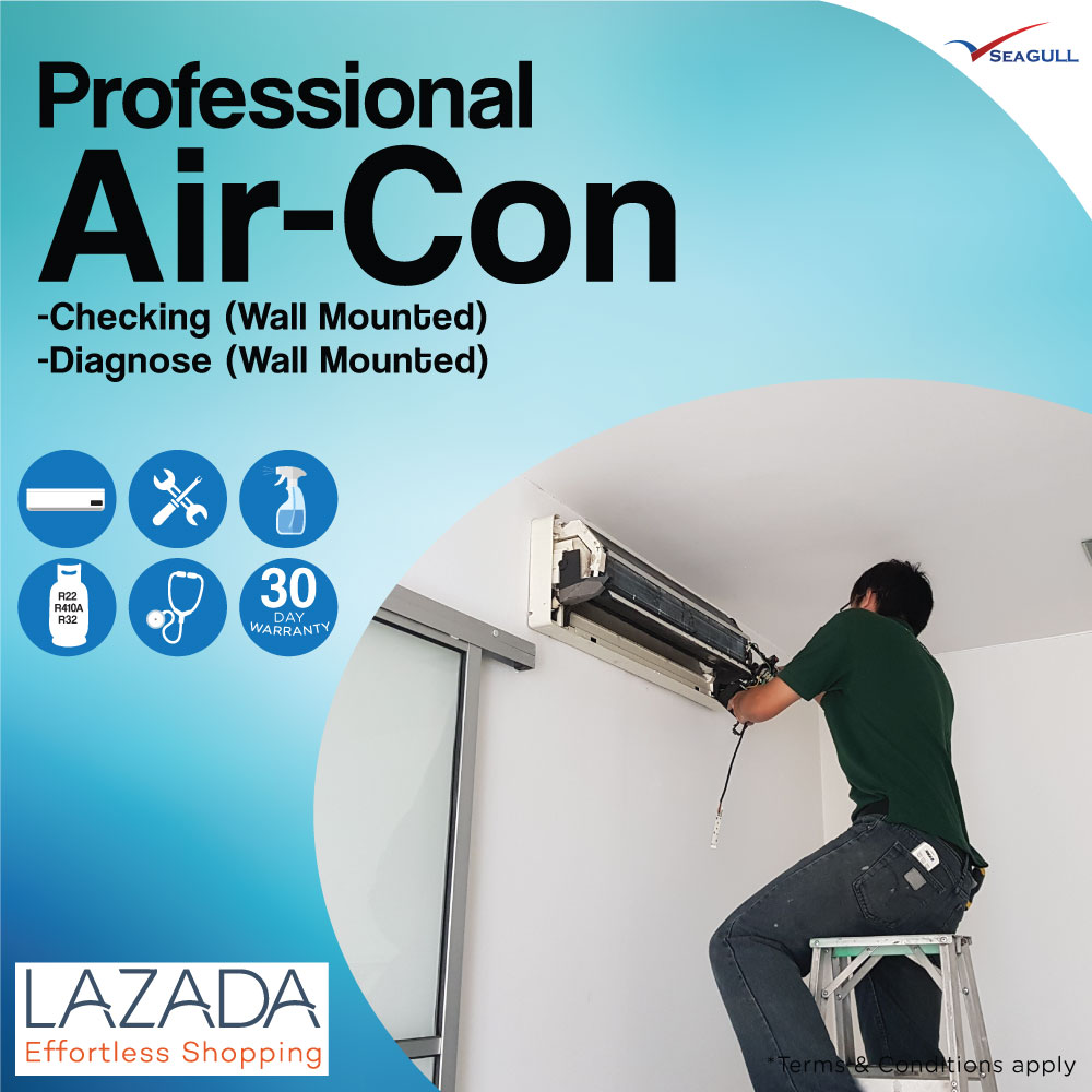 Professional Air-con Checking & Diagnose (Wall Mounted
