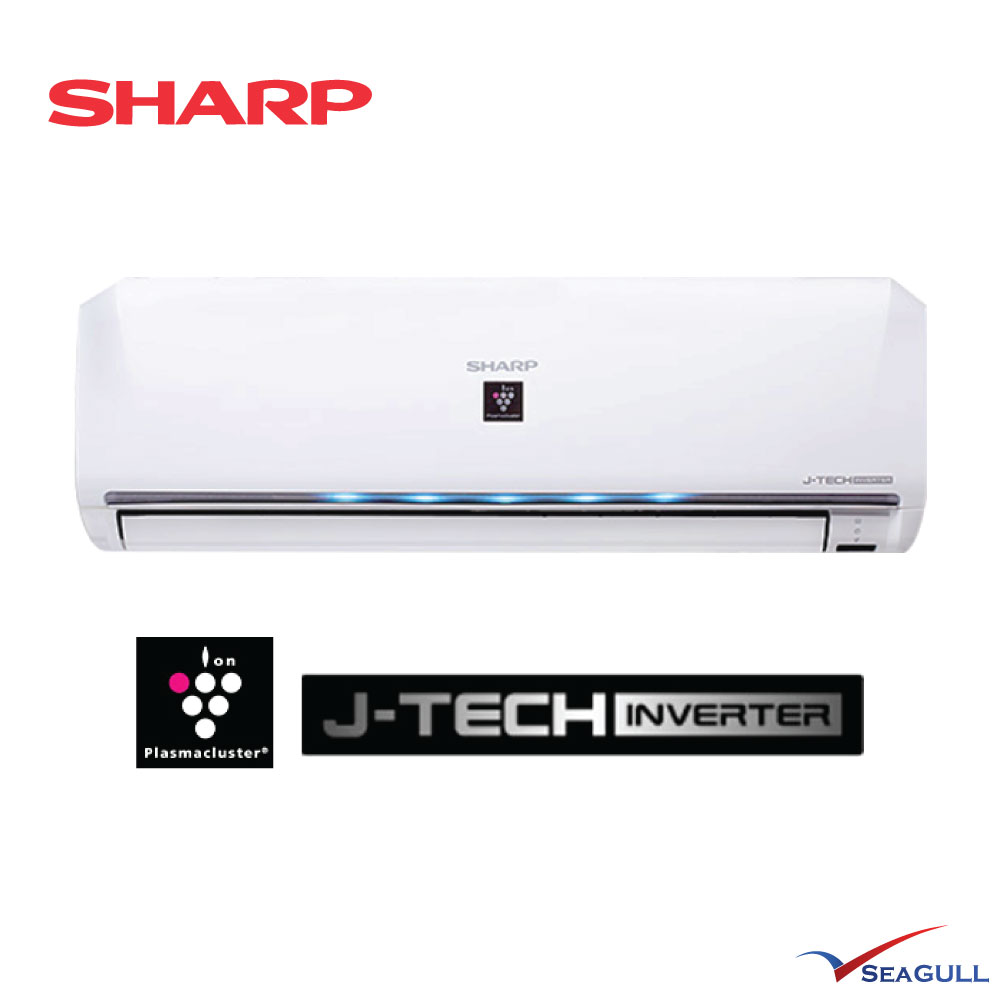 Sharp Premium Inverter Plasmacluster Wall Mounted 1 5hp