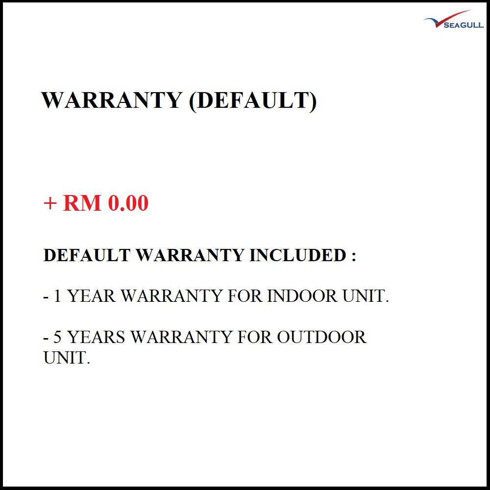 Default Warranty