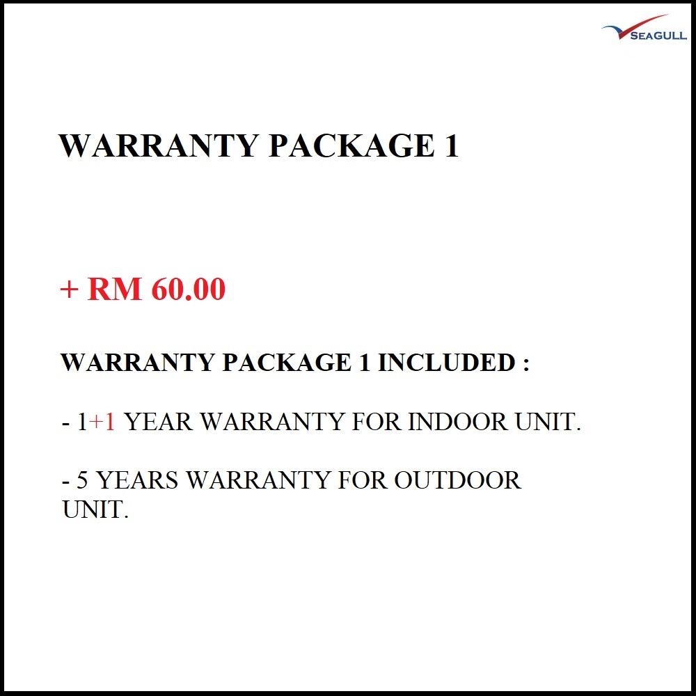 Warranty Package 1