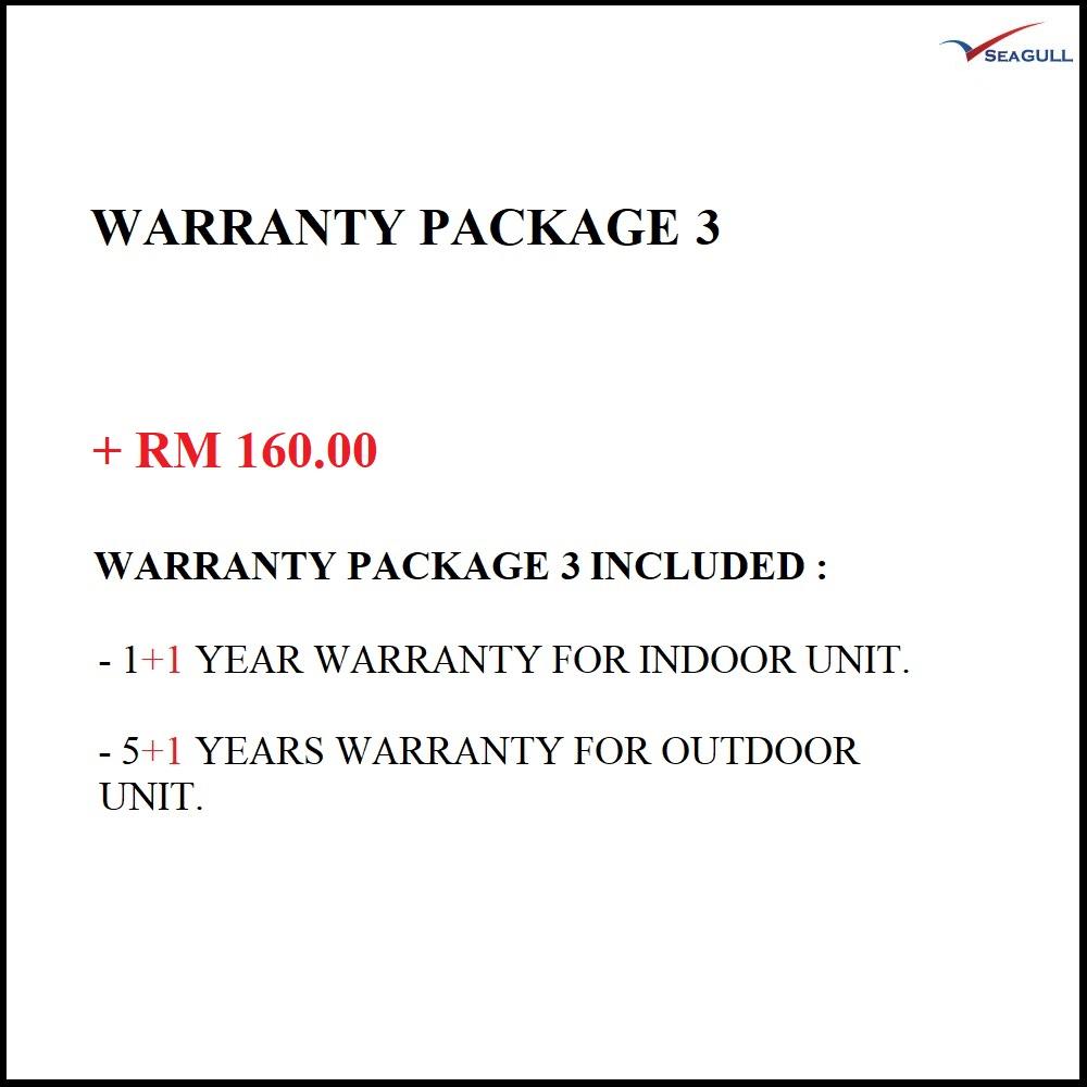 Warranty Package 3