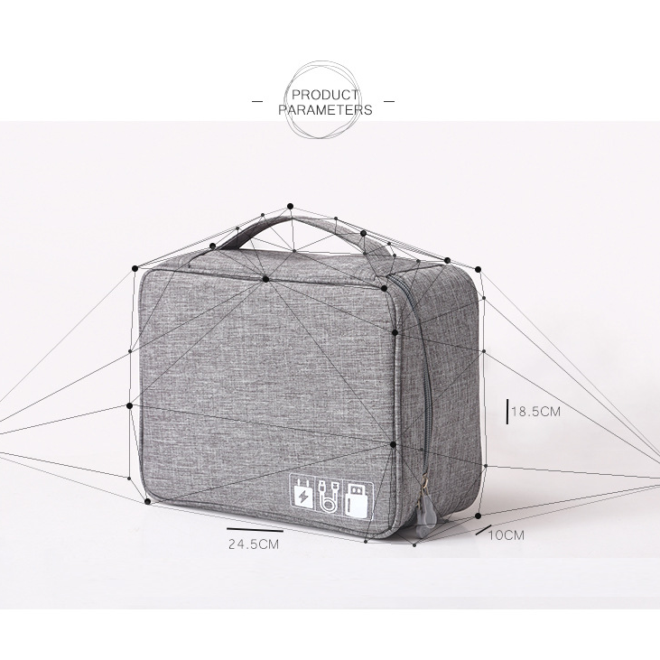 New digital bag storage bag multi-function data cable storage_12